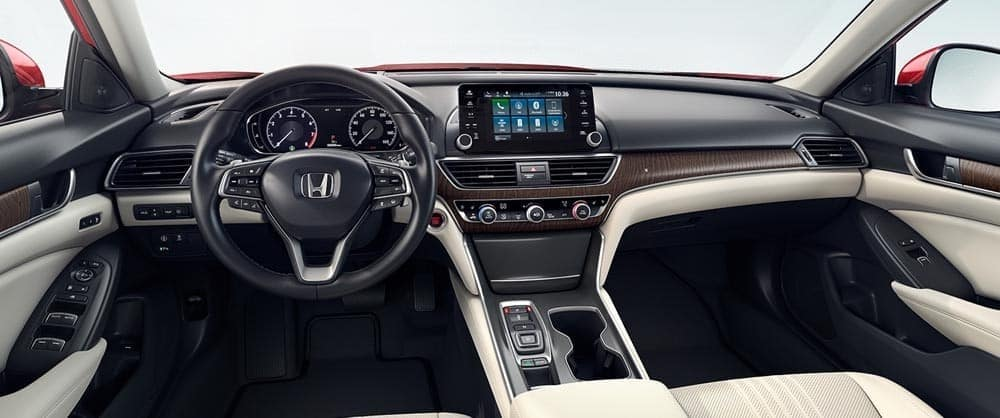 2018 accord int touring front wide view interior