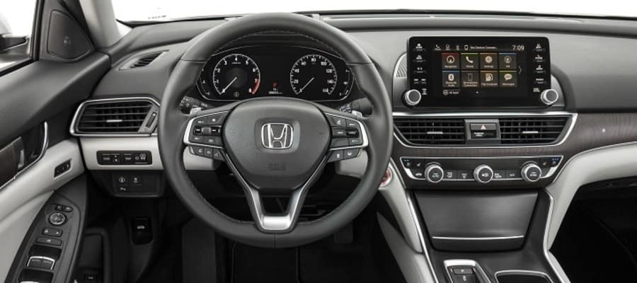 2018 honda accord interior features commonwealth honda. Black Bedroom Furniture Sets. Home Design Ideas