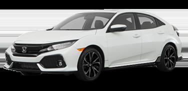 New 2018 Honda Civic Sport Front Wheel Drive Hatchback
