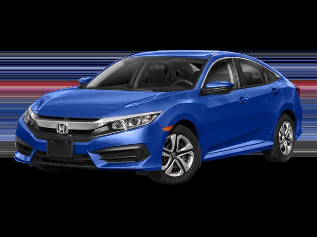2018 Honda Civic Sedan Blue
