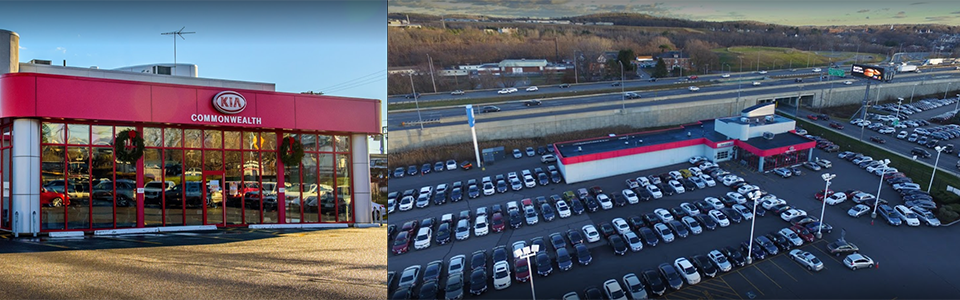 Commonwealth Kia Dealership Photo