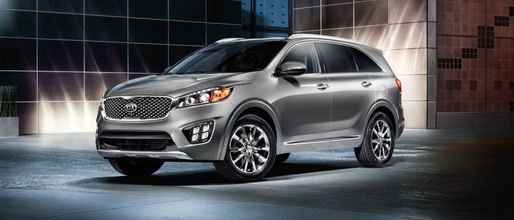 2017 Kia Sorento showroom