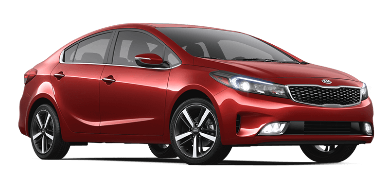 2017 Kia Forte Red