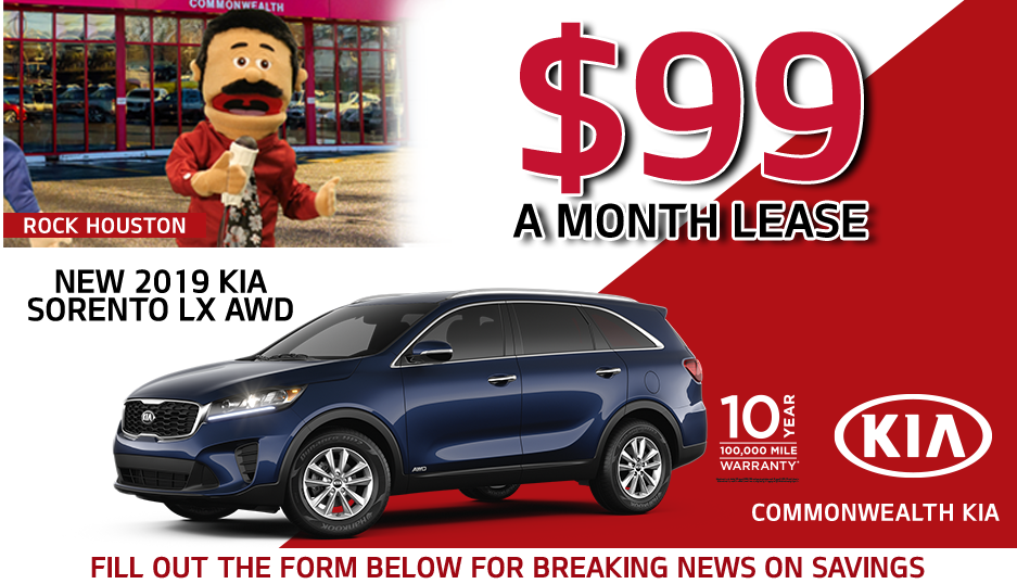 Kia Optima Lease 99 >> Lease A New Kia For Under 100 Month Commonwealth Kia