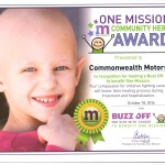 One Mission Community Award