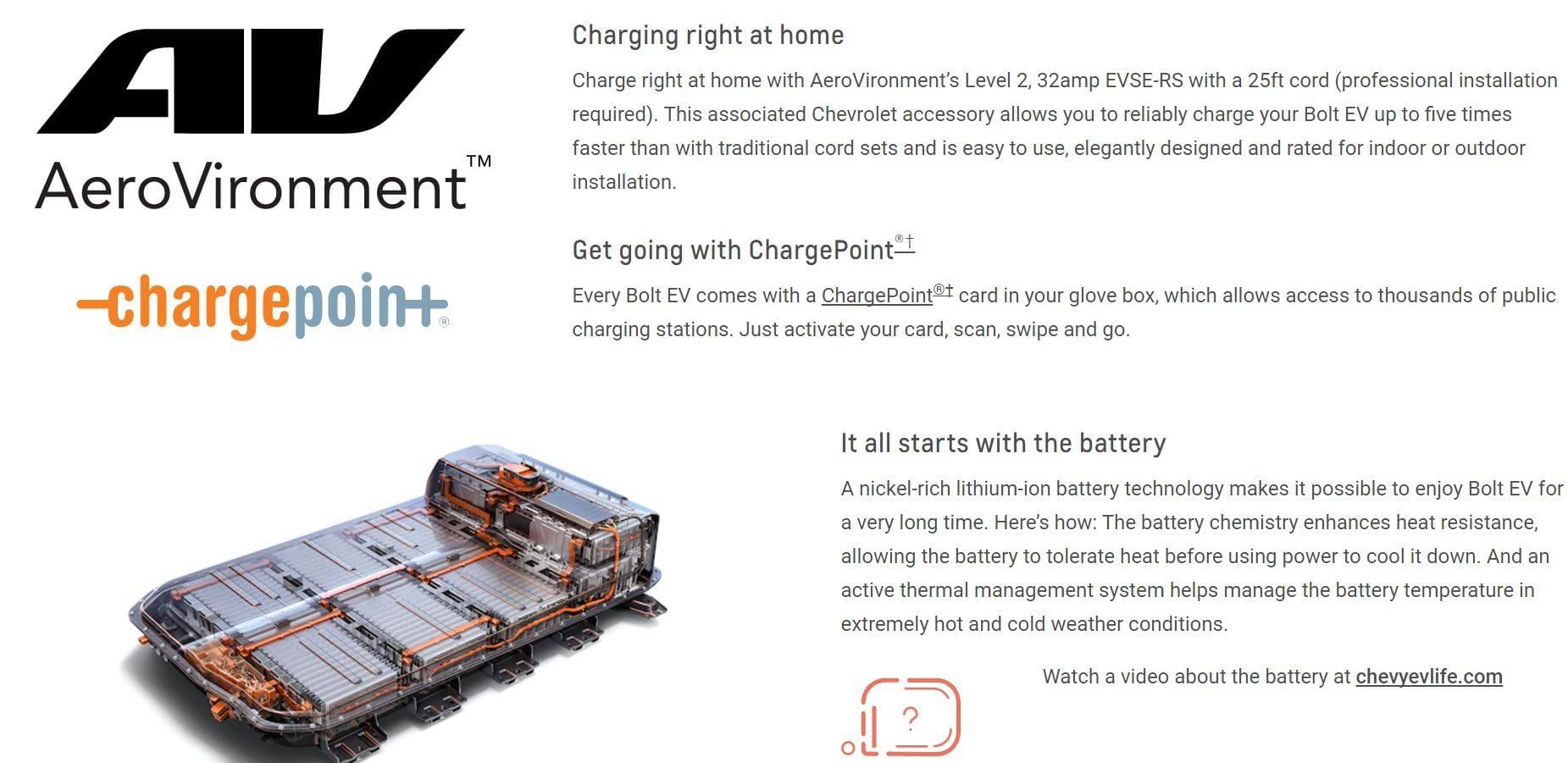 Charging and Battery Information