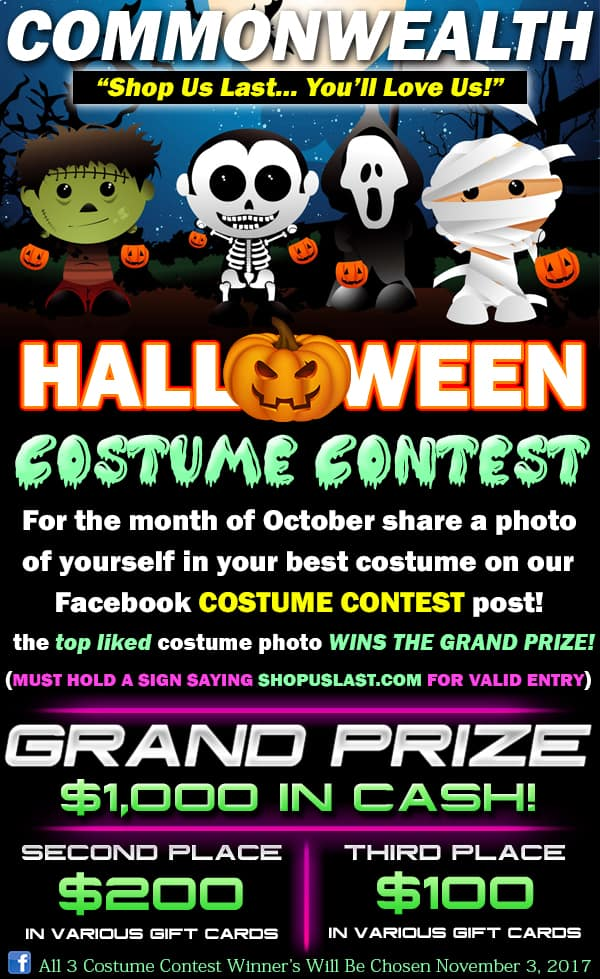 Costume Contest Rules