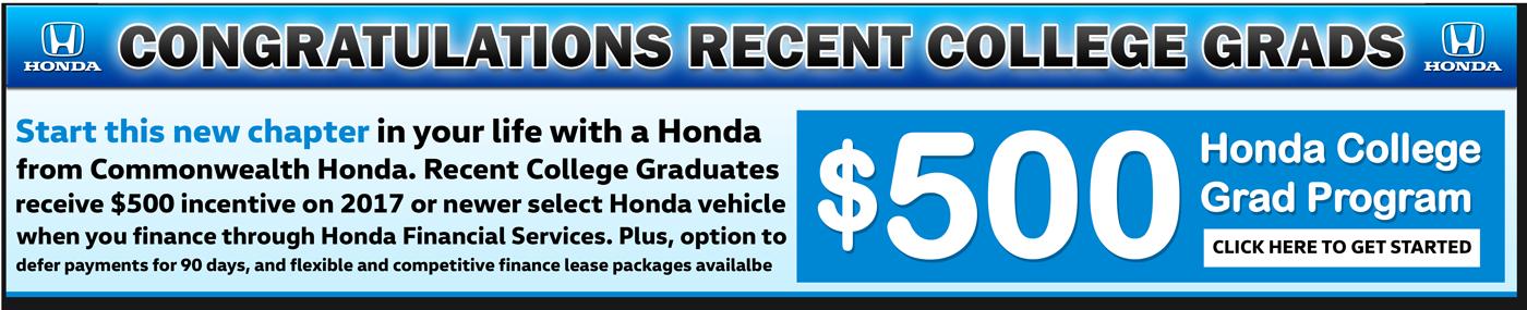 Honda Sales Banner