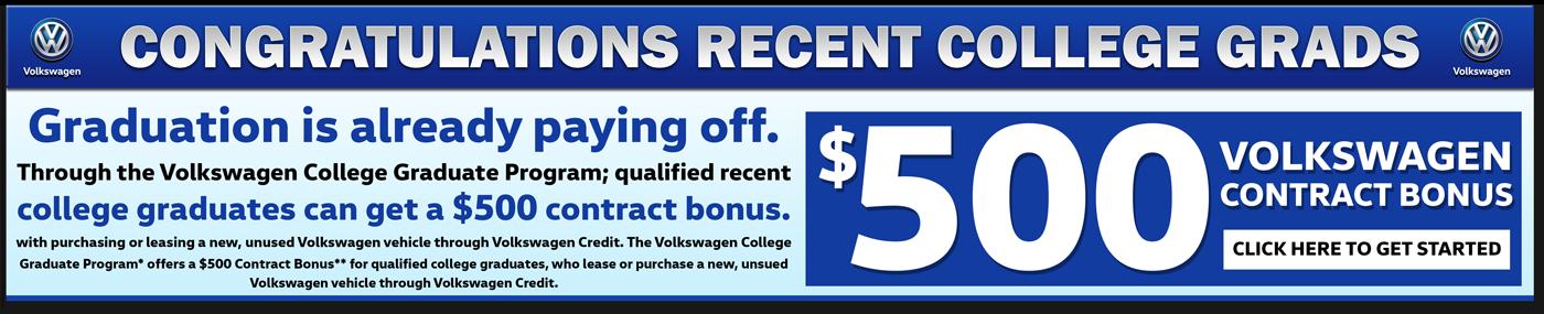 Volkswagen Sales Banner