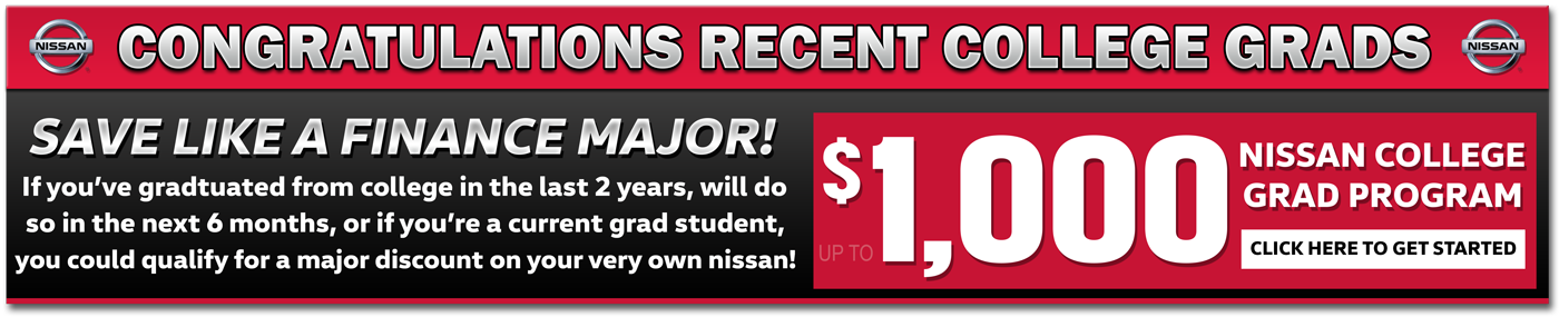 Nissan Sales Banner