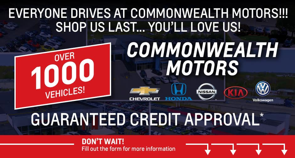 Commonwealth Motors Lawrence Ma >> Get Approved Today Commonwealth Motors