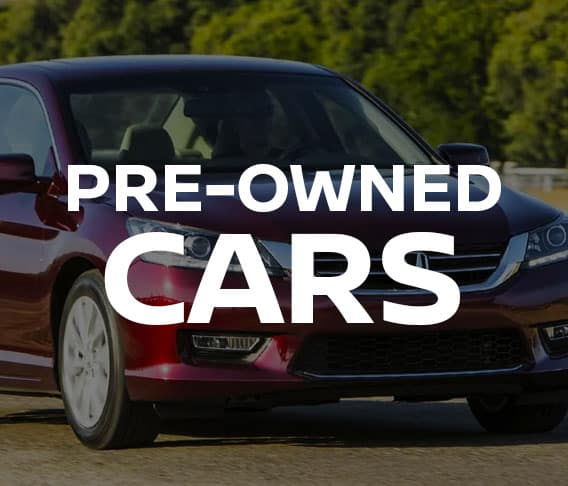 Pre Owned Vehicles button