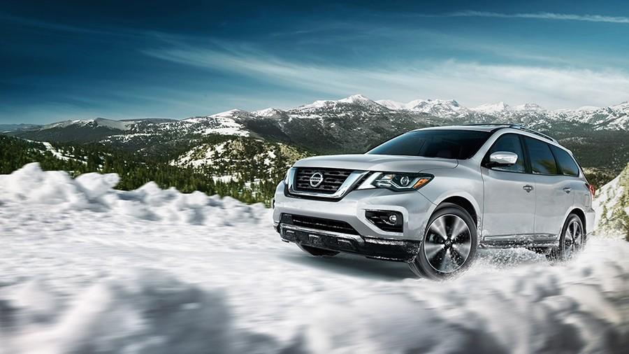 2017 Nissan Pathfinder 4wd system