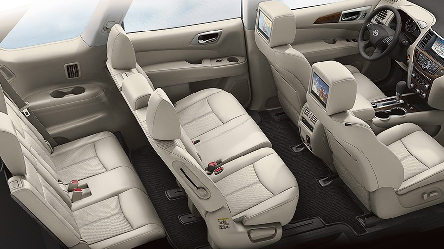 2017 nissan pathfinder with seating for 7