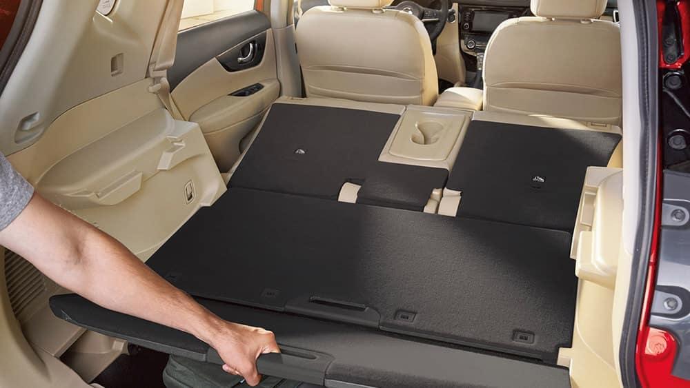2018 nissan rogue sl hidden trunk compartment