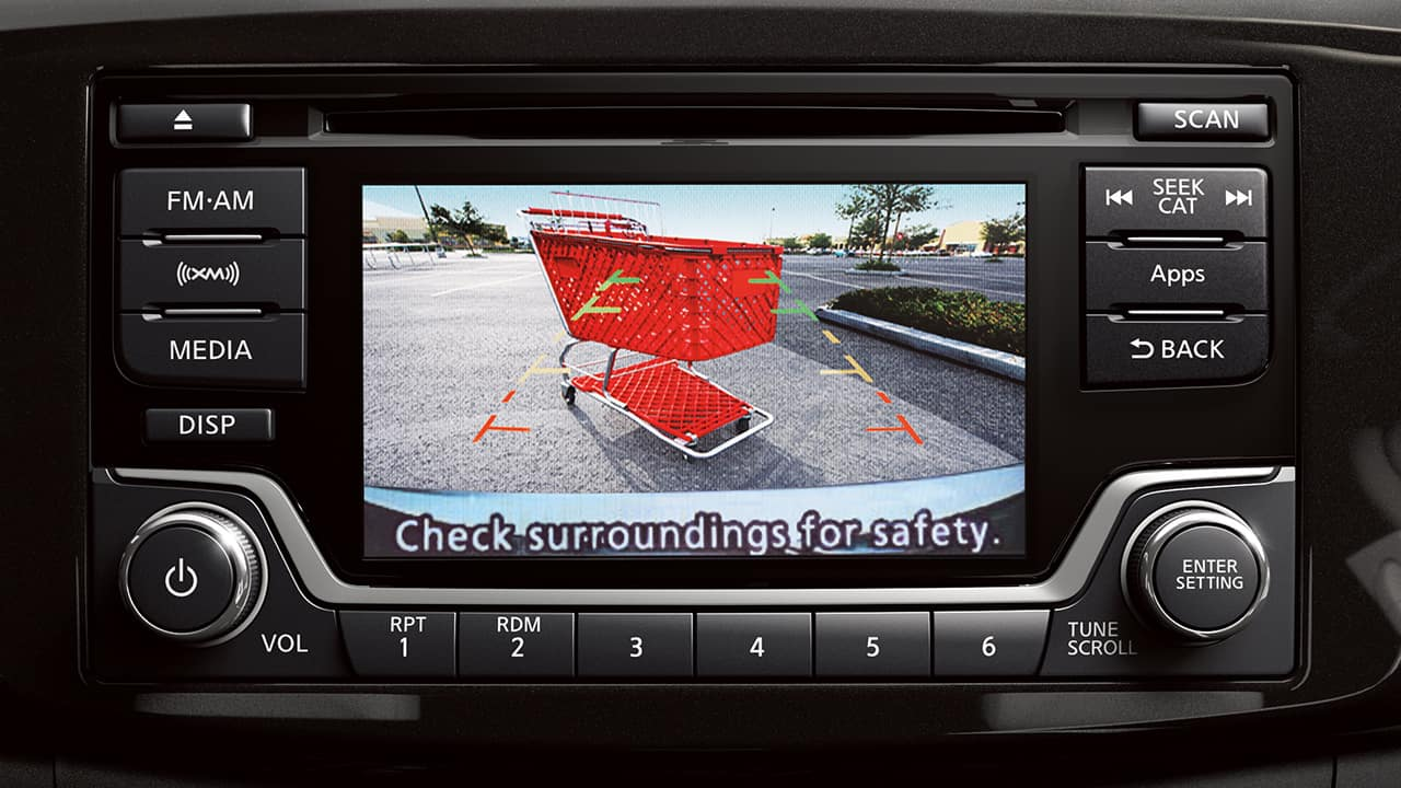 nissan sentra around view monitor