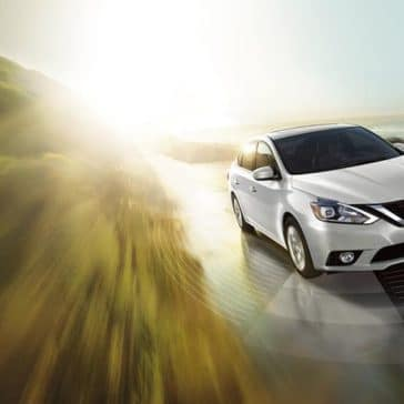 nissan sentra white front