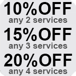 Select A Service Discount Image