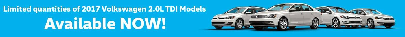 2017 TDI VW Banner