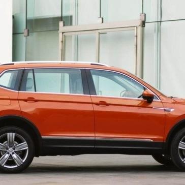 2018 Volkswagen Tiguan Exterior Side Profile