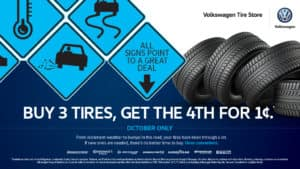 Buy 3 tires, get the 4th for a Penny Banner