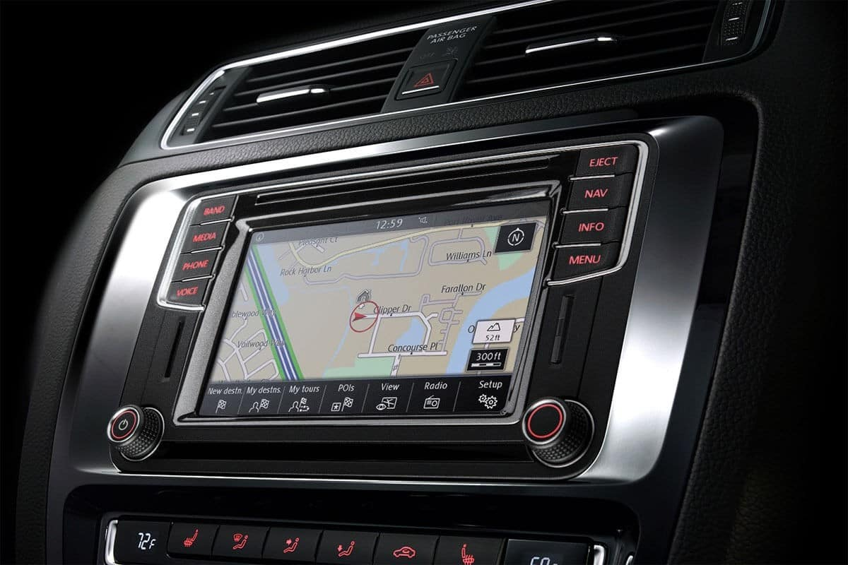 2018 Volkswagen Jetta Touch screen