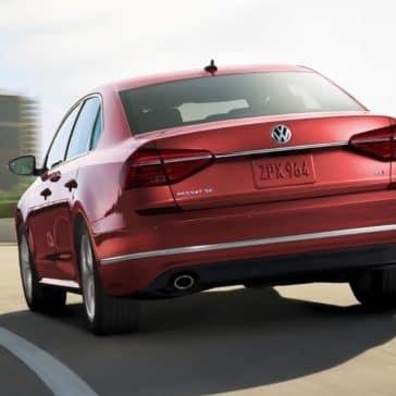 2018 Volkswagen Passat exterior rear view
