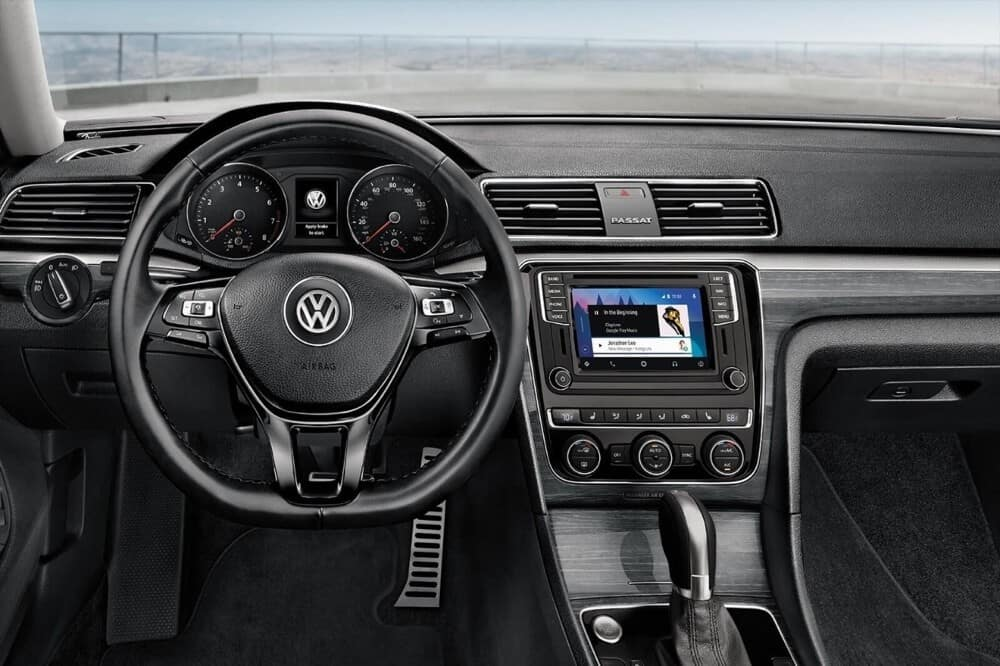 2018 Passat Interior Dash