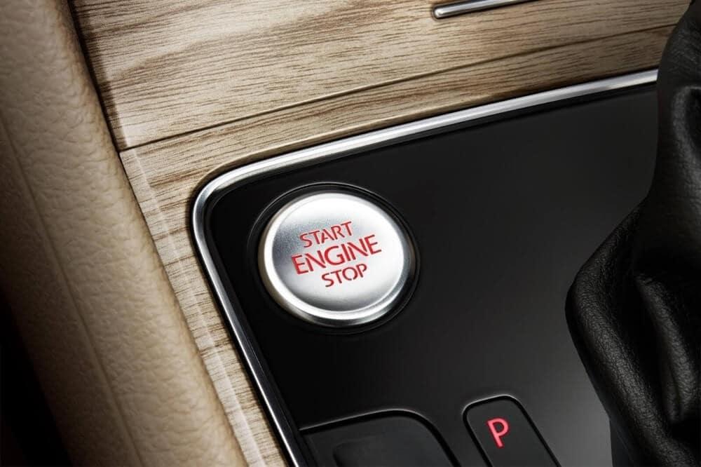 2018 Volkswagen Passat Ignition Button