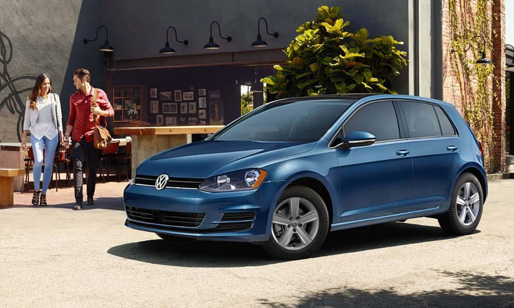 2018 Volkswagen Golf main view