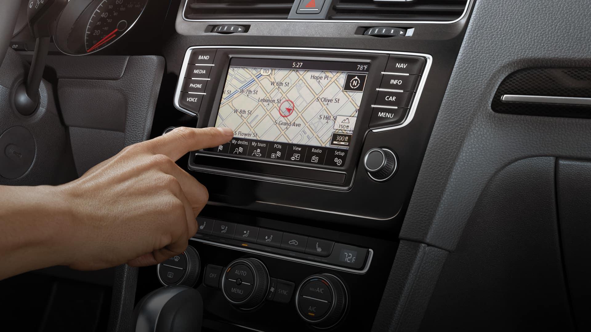 Discover Media Touchscreen