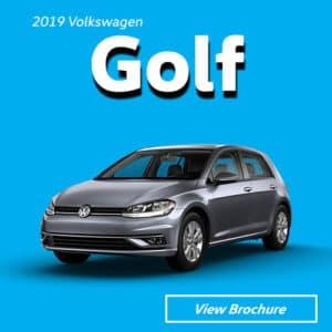 2019 Volkswagen Golf Model Brochure