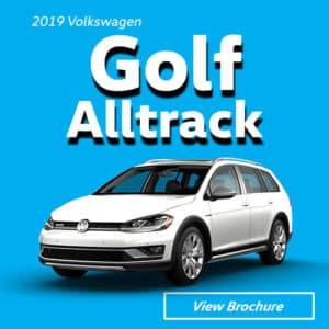 2019 Volkswagen Golf Alltrack Model Brochure
