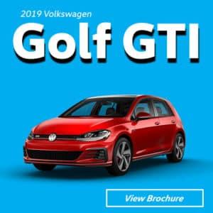 2019 Volkswagen Golf GTI Model Brochure