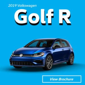 2019 Volkswagen Golf R Model Brochure