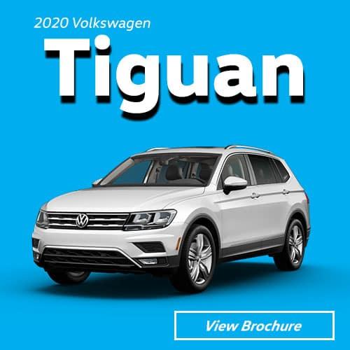2019 Volkswagen Tiguan Model Brochure