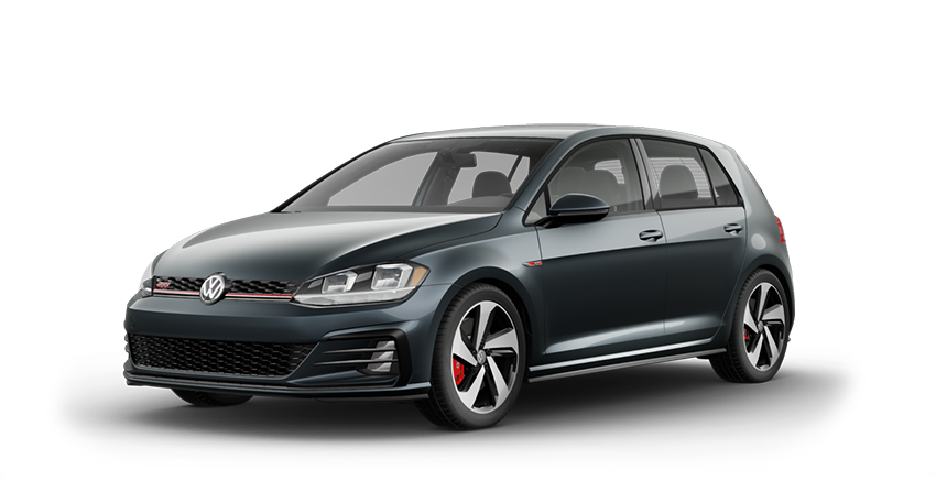 2020 VW Golf GTI Gray