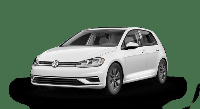 2020 VW Golf White