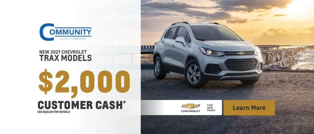 New 2020 Chevy Trax