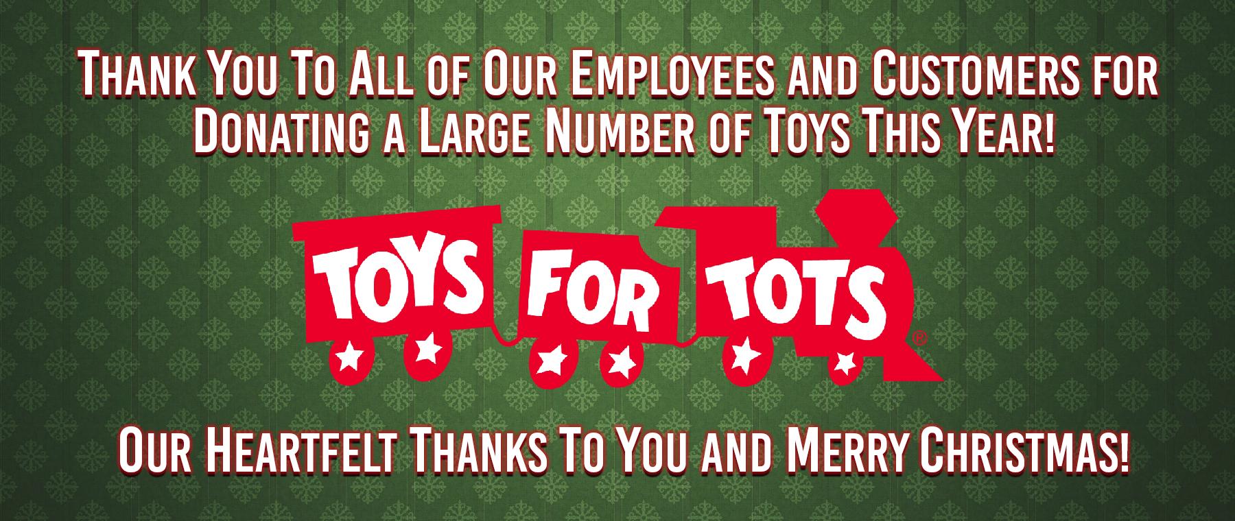 Toys Thank You