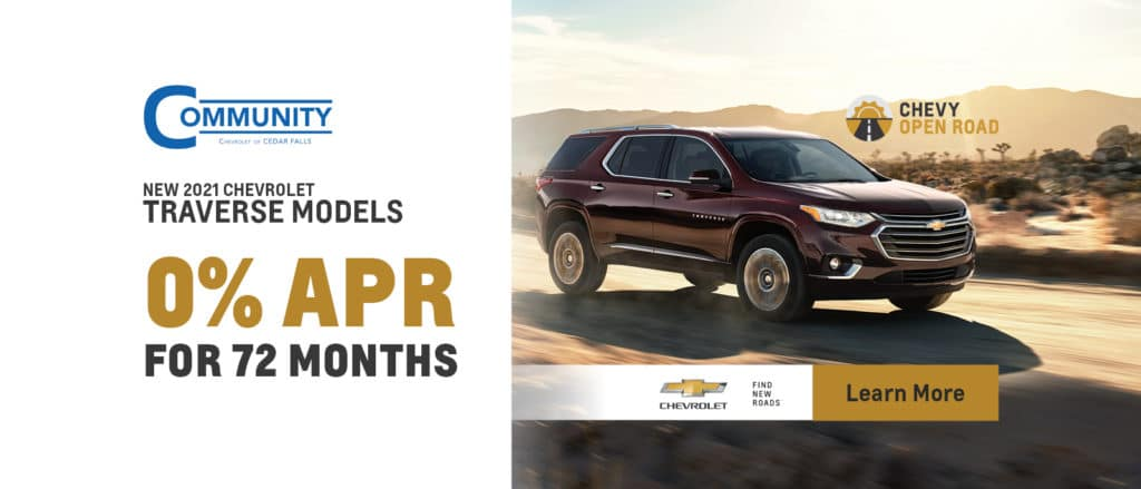 New 2021 Chevy Traverse