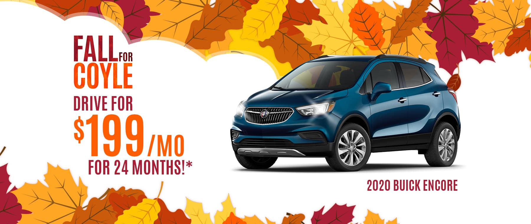 Lease Special on a New Buick Encore near Watson, Indiana