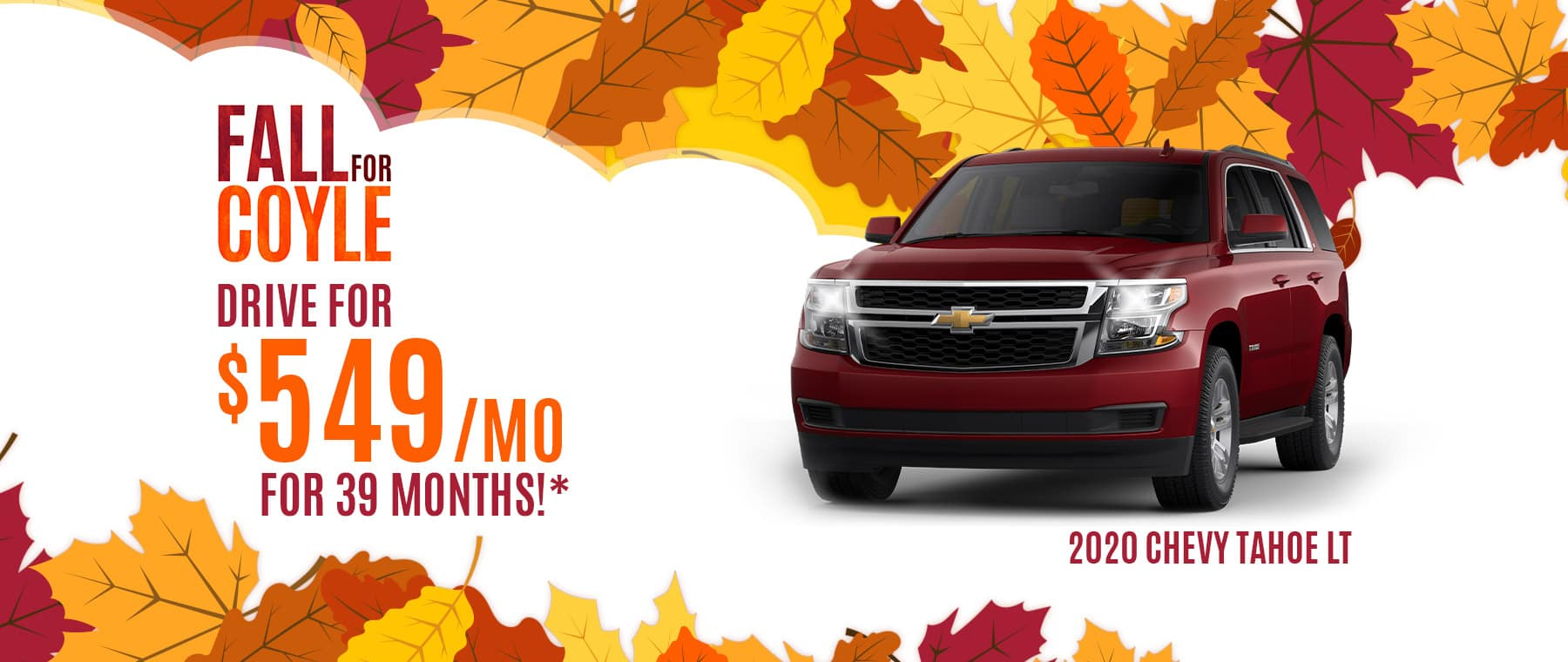 Lease offer on a new Tahoe near Sellersburg, Indiana