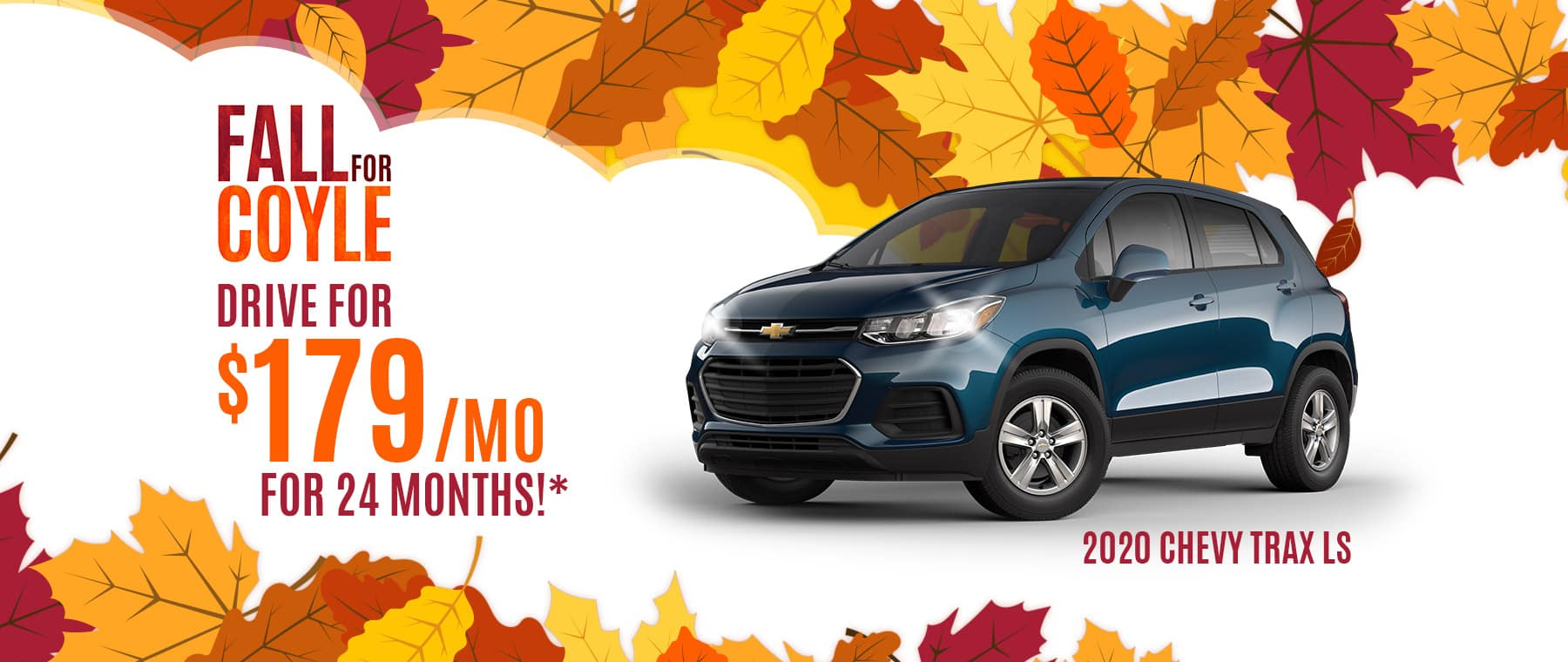 Lease Special on New Chevrolet Trax near New Albany, Indiana