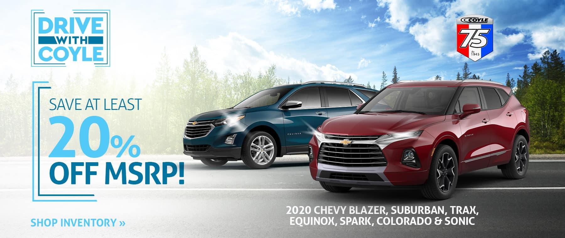Best deal on new Chevrolets near Louisville, Kentucky