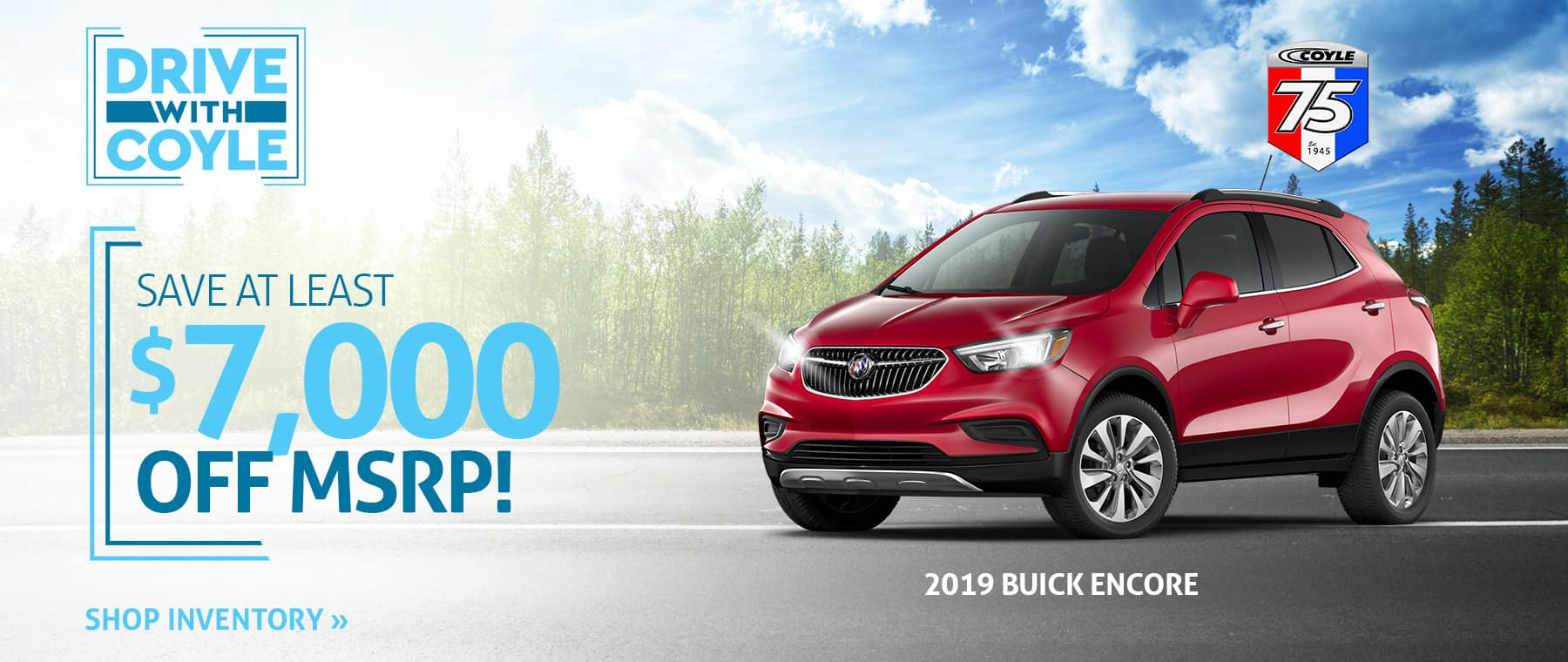 Rebate Special on a New Buick Encore near Watson, Indiana