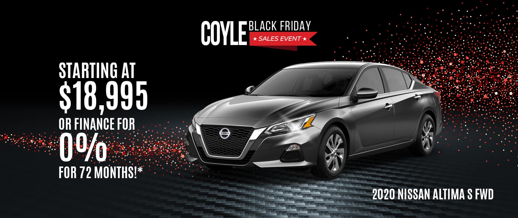 Special offer on a New Nissan Altima near Sellersburg, Indiana