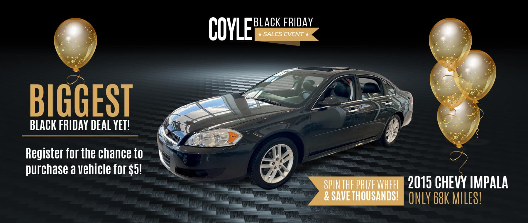 Best Deals for Black Friday at Coyle Automotive in Clarksville, Indiana