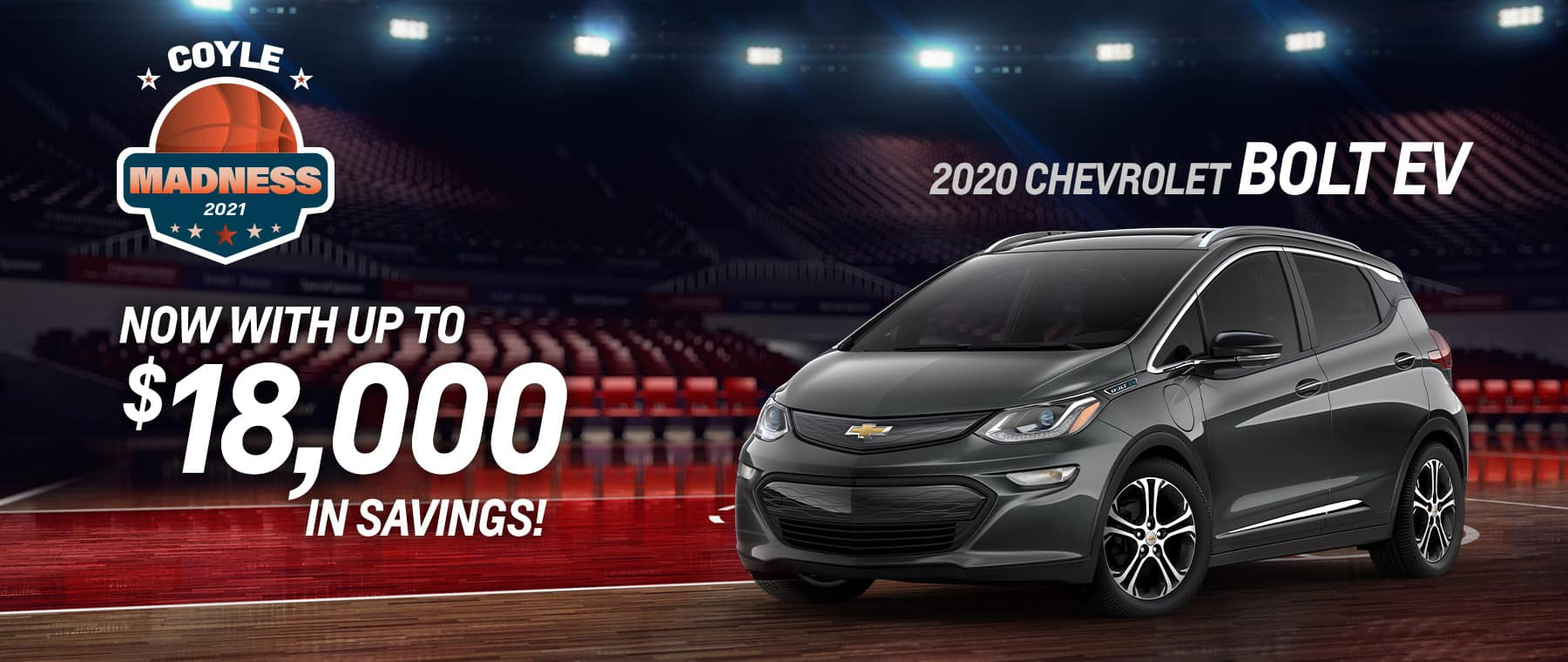 Best rebate offer on a new 2020 Bolt EV near Clarksville IN