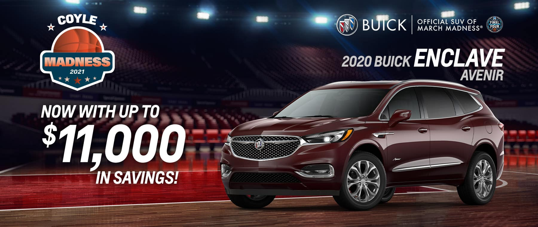 Best rebate offer on a new 2020 Enclave near Clarksville IN